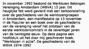 Het kabinet den Uyl en de eerste werklozencomite's